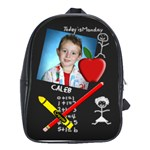 Chalkboard Large School Bag - School Bag (Large)