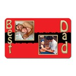 Best Dad magnet - Magnet (Rectangular)