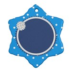 Little Snowflake - Snowflake Ornament (Two Sides)