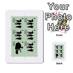 Golpe Mazo3 By Mipedtor   Multi Purpose Cards (rectangle)   I61olf20ielp   Www Artscow Com Front 30