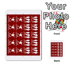 Golpe Mazo3 By Mipedtor   Multi Purpose Cards (rectangle)   I61olf20ielp   Www Artscow Com Front 35