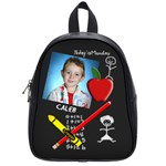 Chalkboard Small School Bag - School Bag (Small)