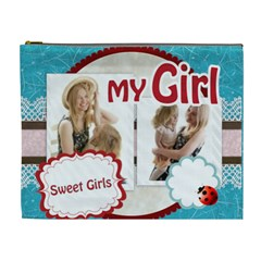 My Girl By Joely   Cosmetic Bag (xl)   Sey44uxpbher   Www Artscow Com Front