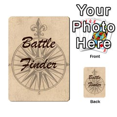 Battle Finder Deck 1 By Tom Huntington   Playing Cards 54 Designs   Nlwq70c0m8dy   Www Artscow Com Back