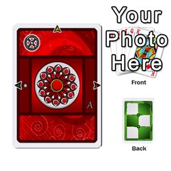 Piecepack Standard & Playing Cards By Melody   Playing Cards 54 Designs   Xqpbokg0ws89   Www Artscow Com Front - Spade2