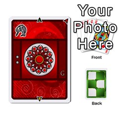 Piecepack Standard & Playing Cards By Melody   Playing Cards 54 Designs   Xqpbokg0ws89   Www Artscow Com Front - Spade3