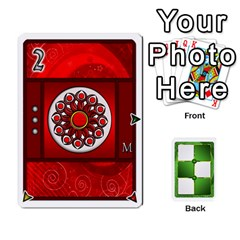 Piecepack Standard & Playing Cards By Melody   Playing Cards 54 Designs   Xqpbokg0ws89   Www Artscow Com Front - Spade4