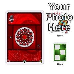Piecepack Standard & Playing Cards By Melody   Playing Cards 54 Designs   Xqpbokg0ws89   Www Artscow Com Front - Spade6