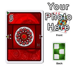 Piecepack Standard & Playing Cards By Melody   Playing Cards 54 Designs   Xqpbokg0ws89   Www Artscow Com Front - Spade7