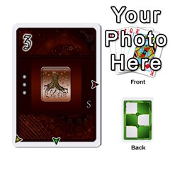 Piecepack 2 By Melody   Playing Cards 54 Designs   6uyym4o83ypr   Www Artscow Com Front - Diamond3