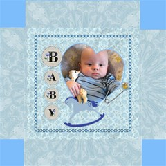 Baby Boy Storage Photo Stool By Lil    Storage Stool 12    S7y6u7wb3nfa   Www Artscow Com Top