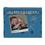 Happy Go Lucky XL Cosmetic Bag - Cosmetic Bag (XL)