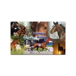 Harness Racing Sticker Rectangular (100 pack)