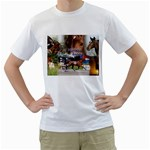 Harness Racing White T-Shirt