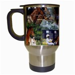 Harness Racing Travel Mug (White)