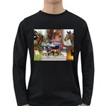 Harness Racing Long Sleeve Dark T-Shirt