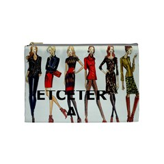 Etc Cosmetic Bag Fall 2011 1 By Lori Cronican   Cosmetic Bag (medium)   Ep745jh81rwu   Www Artscow Com Front