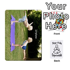 Yoga Cards Text By Deanna   Playing Cards 54 Designs   0p47fhcwmxrj   Www Artscow Com Front - Spade5