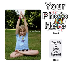 Yoga Cards Text By Deanna   Playing Cards 54 Designs   0p47fhcwmxrj   Www Artscow Com Front - Diamond10