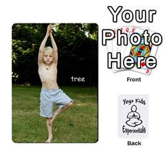 Yoga Cards Text By Deanna   Playing Cards 54 Designs   0p47fhcwmxrj   Www Artscow Com Front - Club9