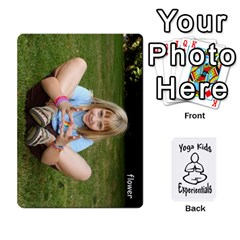 Ace Yoga Cards Text By Deanna   Playing Cards 54 Designs   0p47fhcwmxrj   Www Artscow Com Front - ClubA