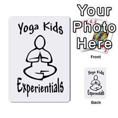 Yoga Cards Text By Deanna   Playing Cards 54 Designs   0p47fhcwmxrj   Www Artscow Com Back