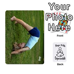 Yoga Cards Text By Deanna   Playing Cards 54 Designs   0p47fhcwmxrj   Www Artscow Com Front - Spade8