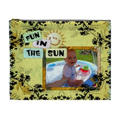 Fun In The Sun Xl Cosmetic Bag By Lil    Cosmetic Bag (xl)   Zvyekthbgf10   Www Artscow Com Front