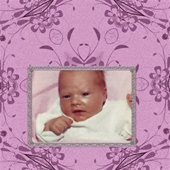 Oh Baby Girl 12  Photo Storage Stool By Lil    Storage Stool 12    Nzagnlks7gkj   Www Artscow Com Front