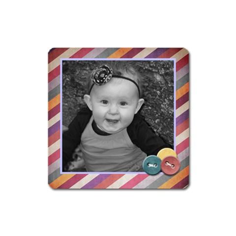 Strip Magnet By Amanda Bunn   Magnet (square)   Oymsfymxzj6q   Www Artscow Com Front