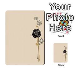 Cards With A Rose By Elena Petrova   Multi Purpose Cards (rectangle)   Qdurudfr4ab4   Www Artscow Com Front 50