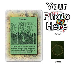 Riddle Of The Ring By Gordon Watson   Playing Cards 54 Designs   Mwvf54047kl0   Www Artscow Com Front - Heart3