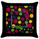 Clash Pillowcase 1 - Throw Pillow Case (Black)
