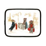 Travelling Yorkies in Paris Netbook Case (Small)