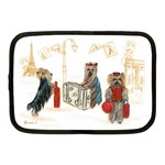 Travelling Yorkies in Paris Netbook Case (Medium)