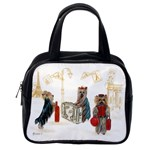 Travelling Yorkies in Paris Classic Handbag (One Side)