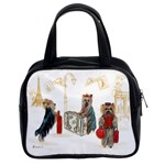 Travelling Yorkies in Paris Classic Handbag (Two Sides)