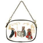 Travelling Yorkies in Paris Chain Purse (One Side)