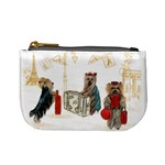 Travelling Yorkies in Paris Mini Coin Purse