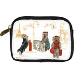 Travelling Yorkies in Paris Digital Camera Leather Case