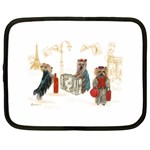Travelling Yorkies in Paris Netbook Case (XXL)