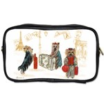 Travelling Yorkies in Paris Toiletries Bag (Two Sides)