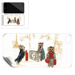 Travelling Yorkies in Paris Apple iPhone 4 Skin
