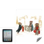 Travelling Yorkies in Paris Apple iPad Skin