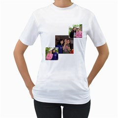 Shayna s Shirt By Elisheva1026   Women s T Shirt (white) (two Sided)   S7cyz8g6zm31   Www Artscow Com Front