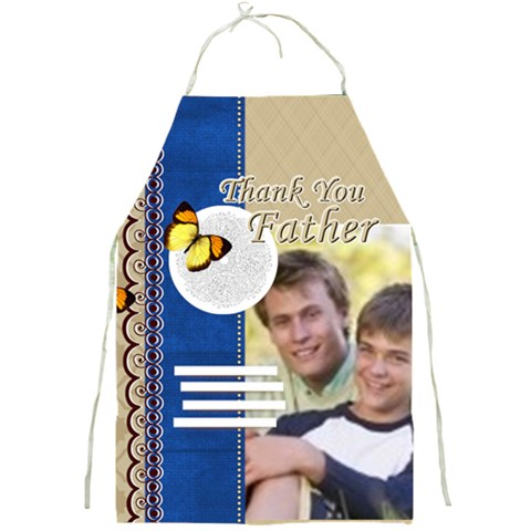 Thank You Father By Joely   Full Print Apron   W8yfn4zun9u8   Www Artscow Com Front