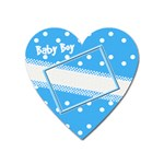 My Baby Boy heart magnet - Magnet (Heart)