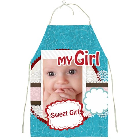 My Baby Girl  By Joely   Full Print Apron   T90ikfu9hcti   Www Artscow Com Front