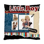 little boy - Standard Cushion Case (One Side)