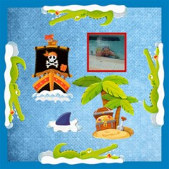 Pirate Pete Boys Toy Box 12 In Storage Stool By Catvinnat   Storage Stool 12    06rhyps2fvcj   Www Artscow Com Top